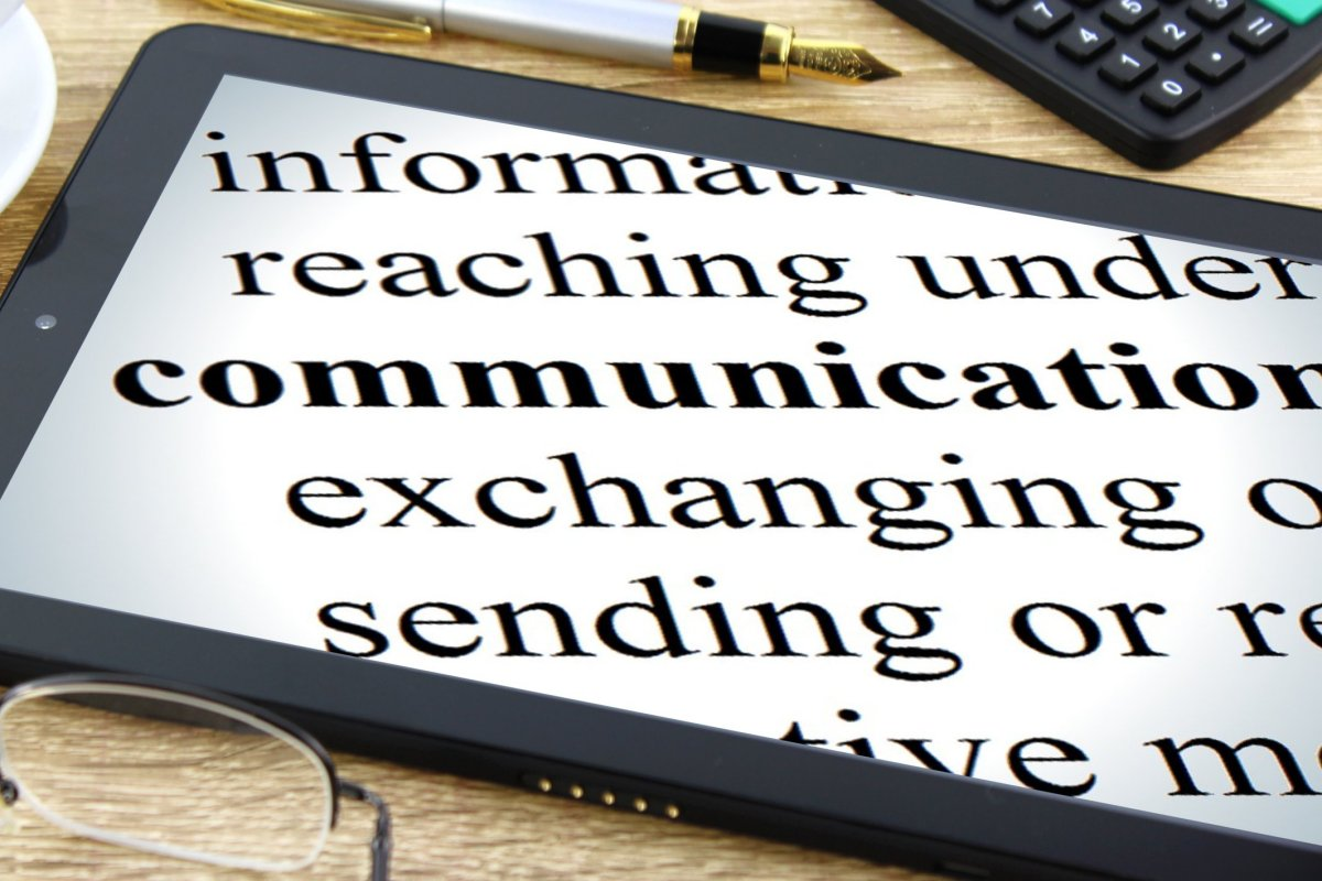 Communication - Free Creative Commons Tablet Dictionary image