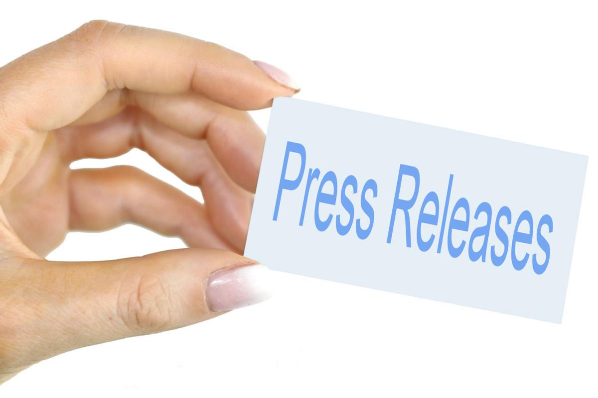 Press Releases - Hand held card image