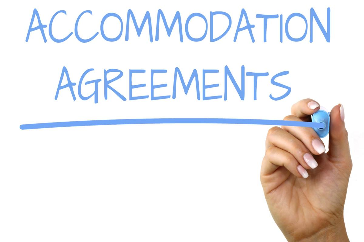 Accommodation Agreements