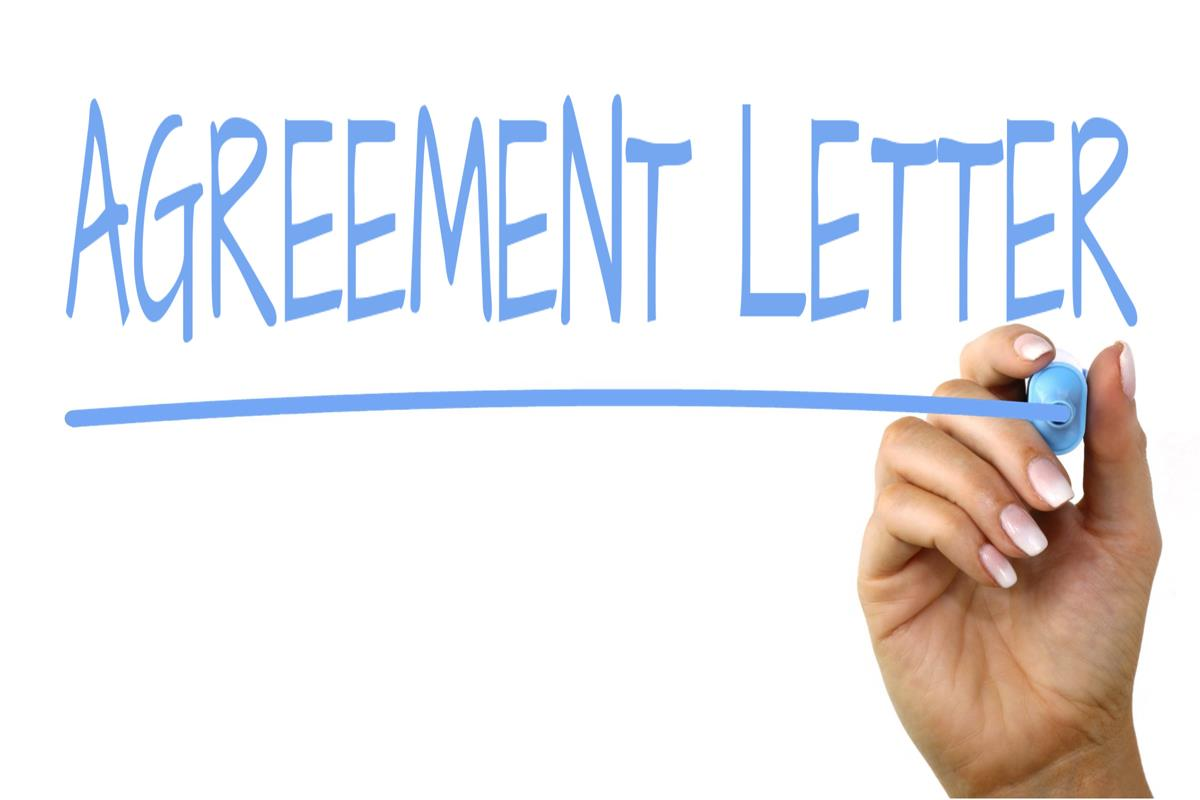 Agreement Letter