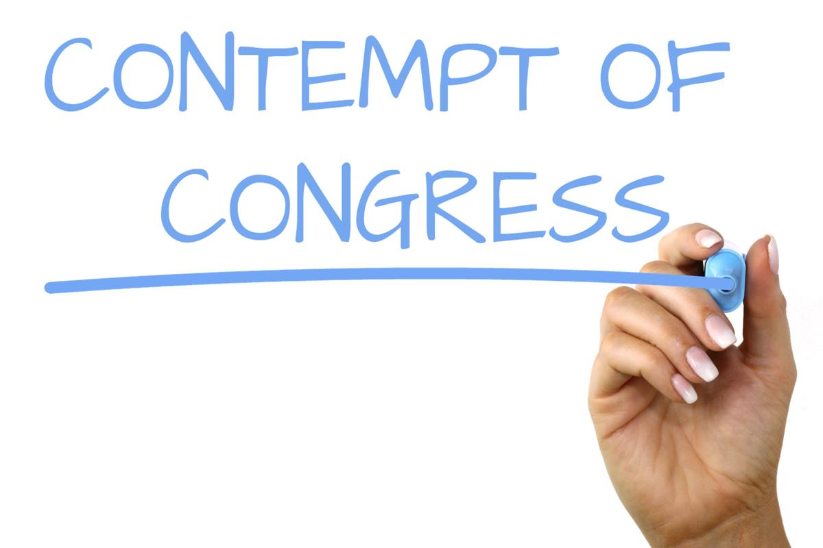 Contempt Of Congress