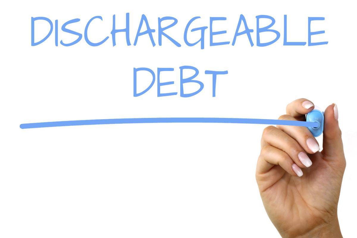 Dischargeable Debt