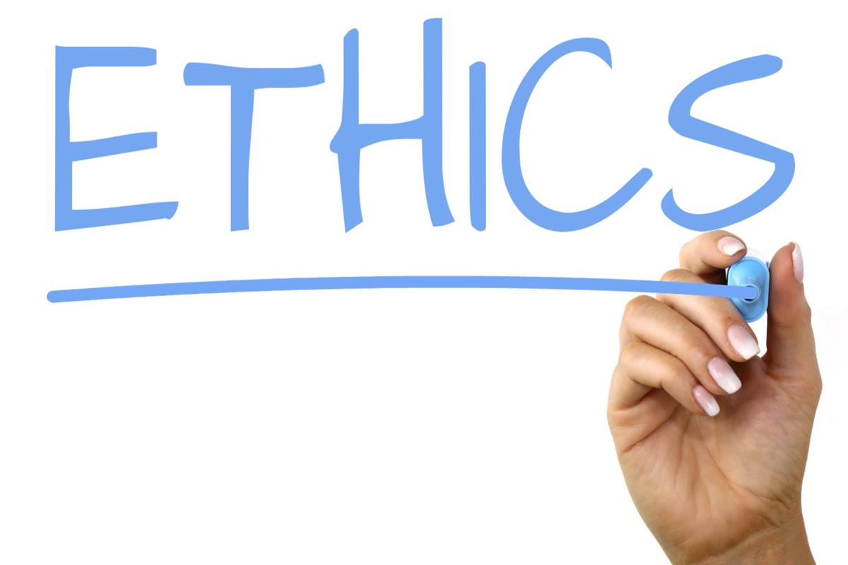 Ethics written out