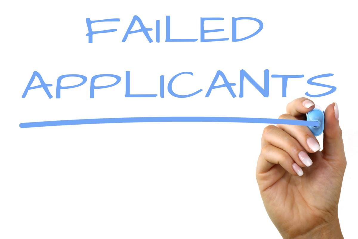 Failed Applicants