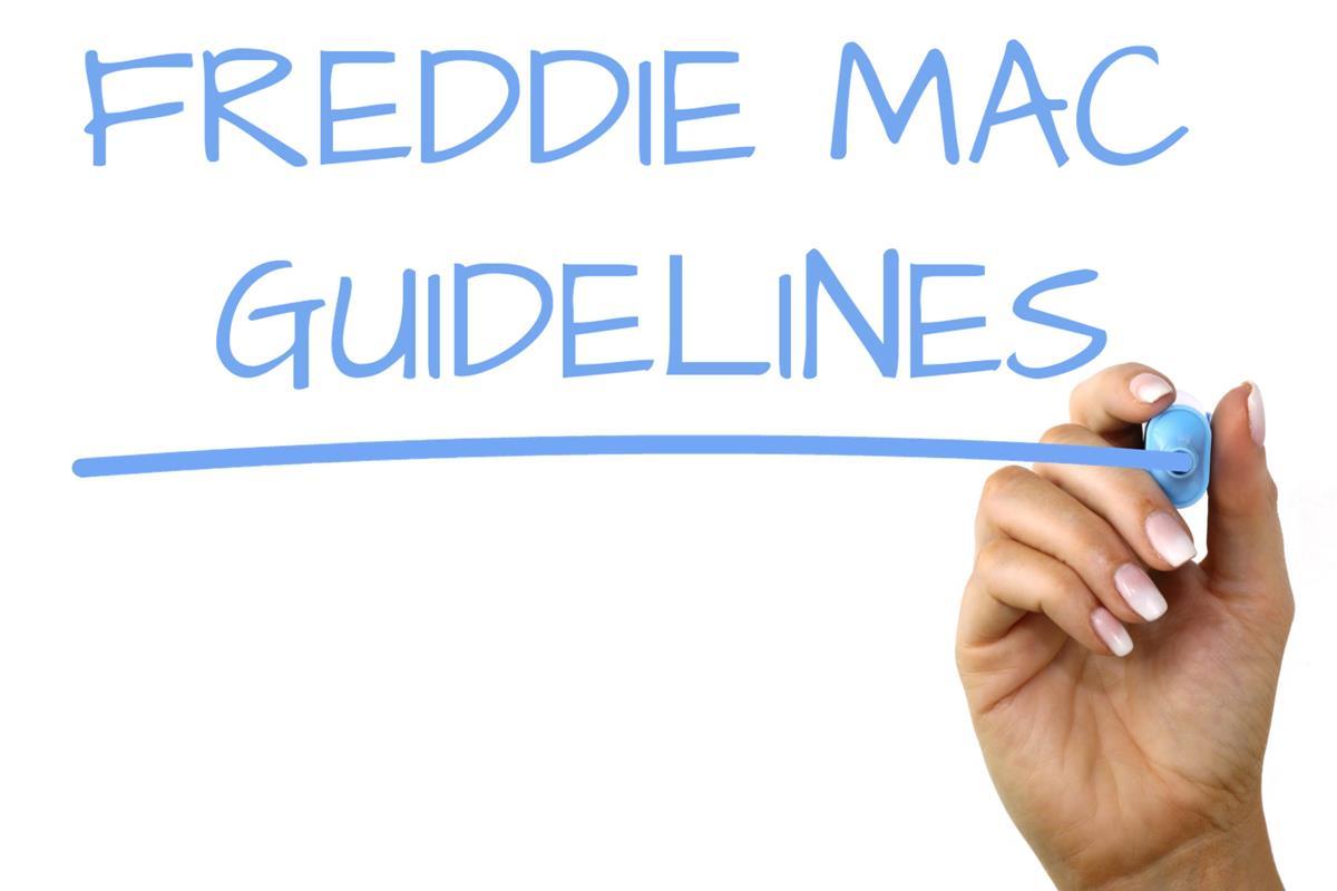 Freddie Mac Guidelines