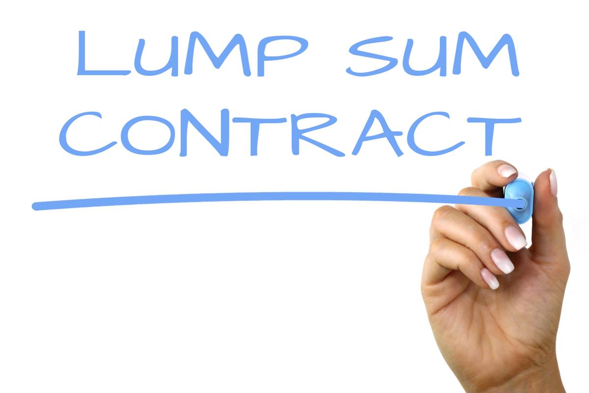 Lump Sum Contract