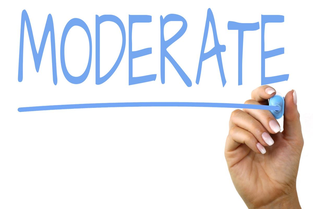 Image result for moderate