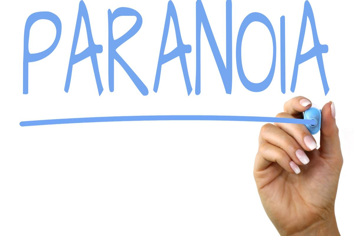 Paranoia - Free Creative Commons Handwriting image