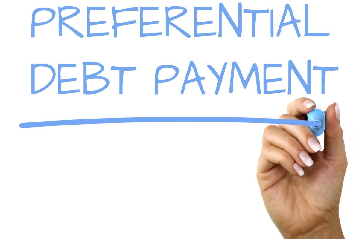 Preferential Debt Payment