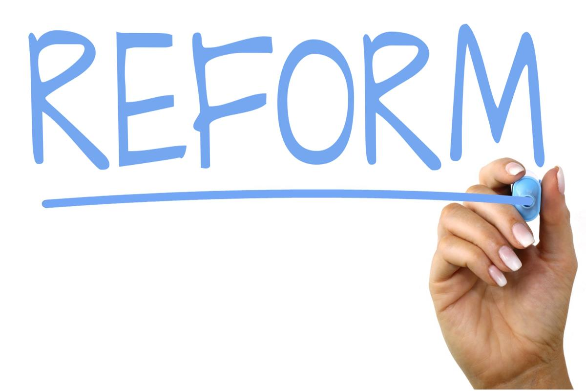 What is reform? This is a positive change 61