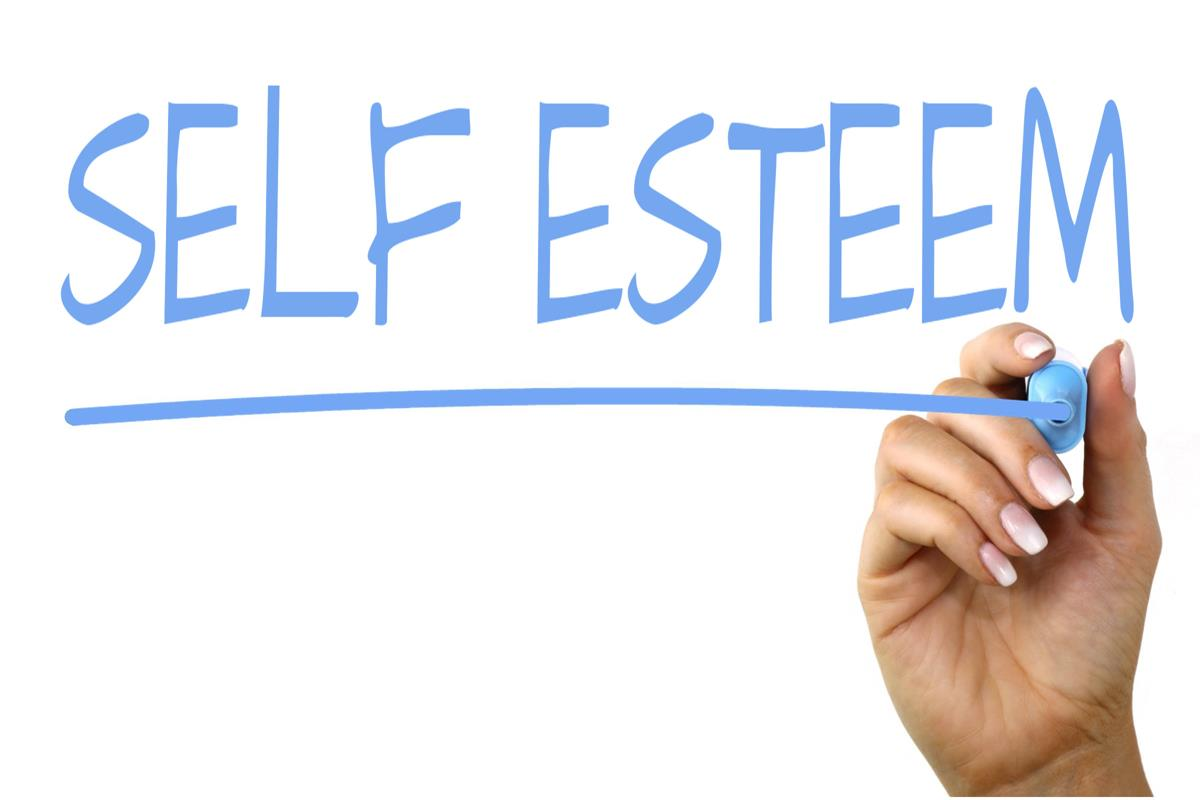 self esteem handwriting image