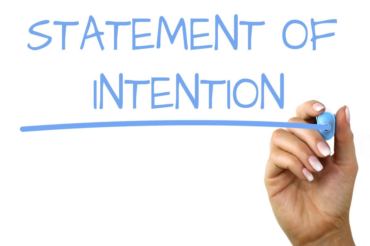 Statement Of Intention