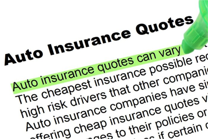 Insurance Quotes Auto >> Auto Insurance Quotes Highlighted Words And Phrases