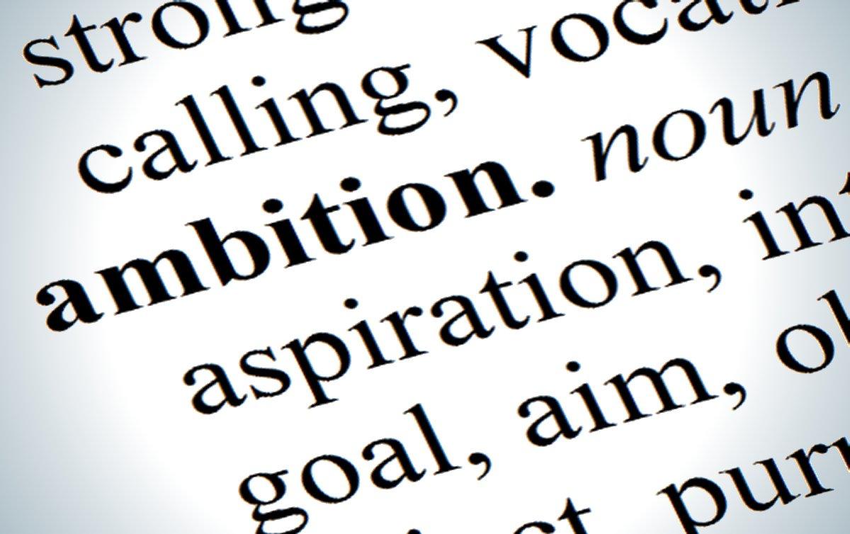 ambition synonym