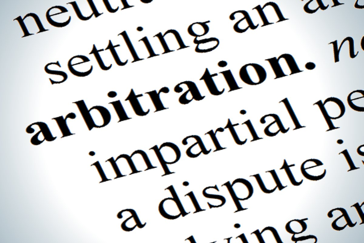 mandatory arbitration can be optional