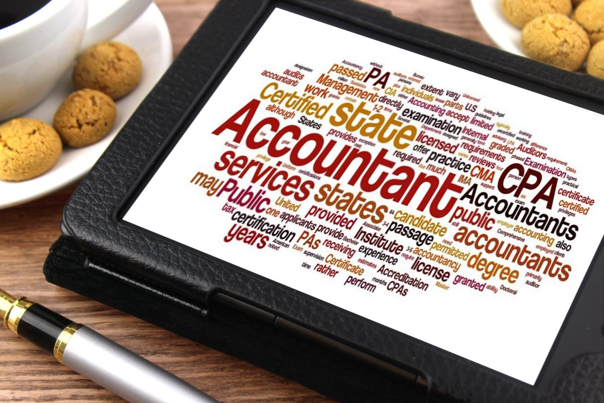 Accountant - Tablet image