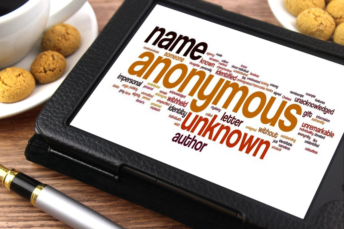 Anonymous - Tablet image
