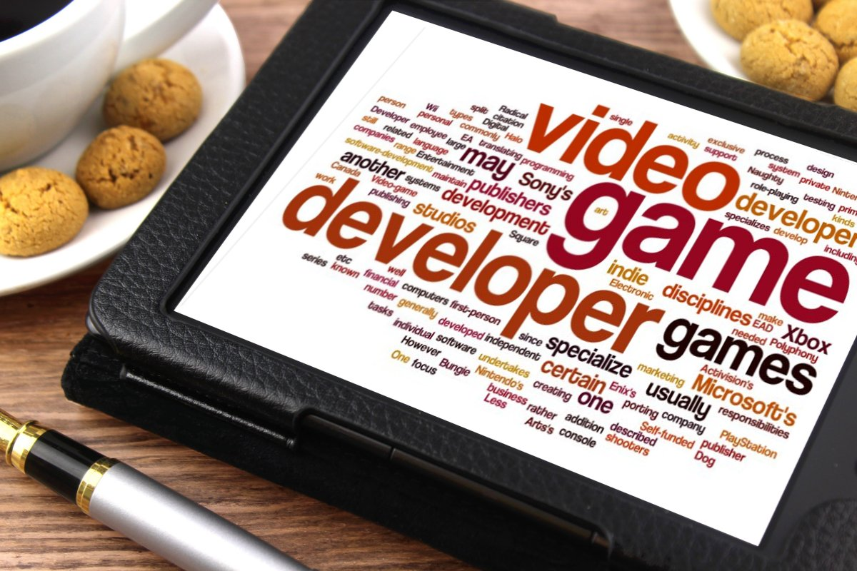 Video Game Developer - Free of Charge Creative Commons Tablet image
