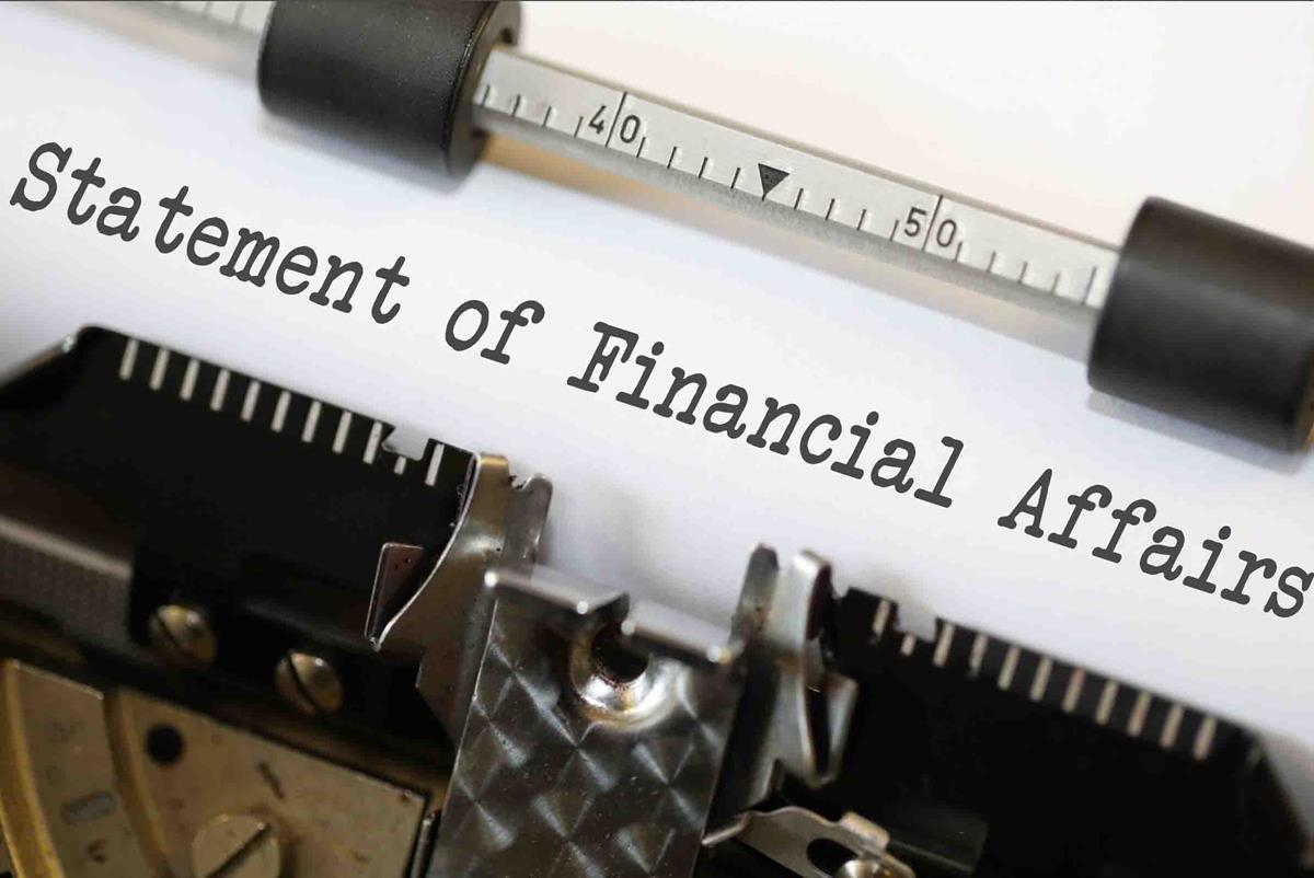 Statement of Financial Affairs