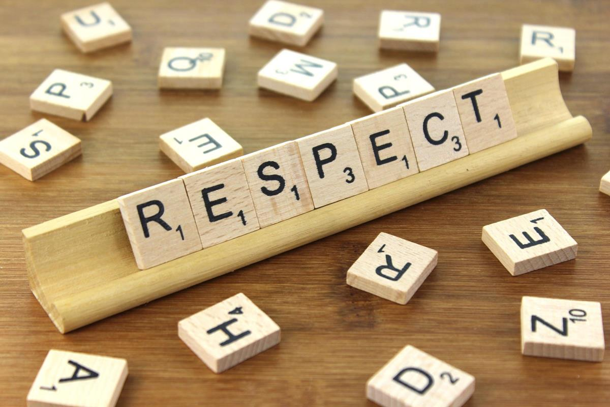 Respect - Wooden Tile Images